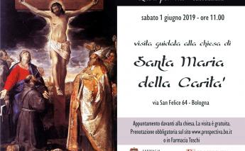 Visita guidata chiesa Santa Maria della Carità - Bologna